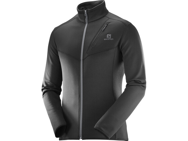 Salomon Discovery FZ Jacket Herr black